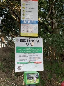 Für Hunde ausgewiesener Strand