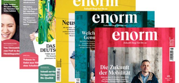 »enorm Magazin« berichtet über Alge