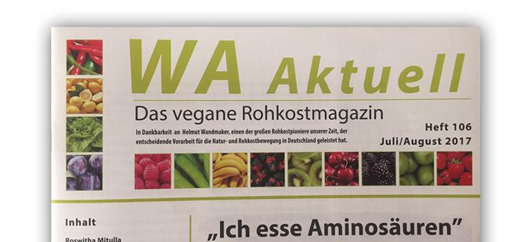 """WA Aktuell berichtet über den """"Alge-Tag 2017"""""""
