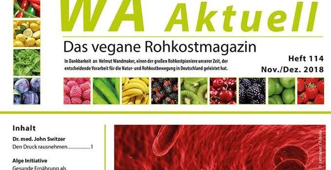 WA-Aktuell berichtet über die Gründer der Alge-Initiative.