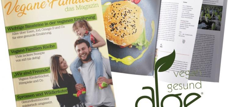 Das erste Vegane Familien Magazin!